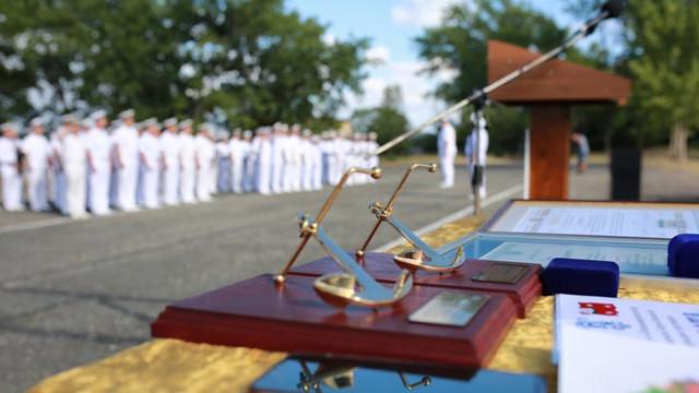 В Бургас тържествено отбелязаха 141 години от създаването на военноморските сили (СНИМКИ)