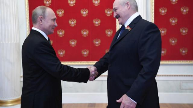 Лукашенко: Путин не ми е оказвал натиск