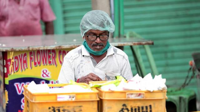 Индия с рекорден скок на заразени, вече са над два милиона