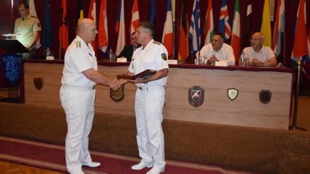 Продължват тържествените прояви за отбелязване на 141 години от създаването на Военноморските сили