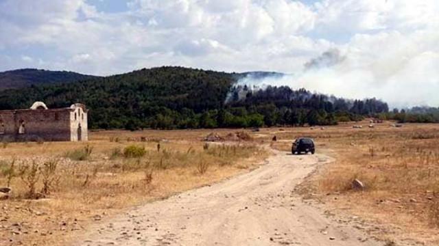 Николов: Под контрол е ситуацията с пожарите в Хасковско