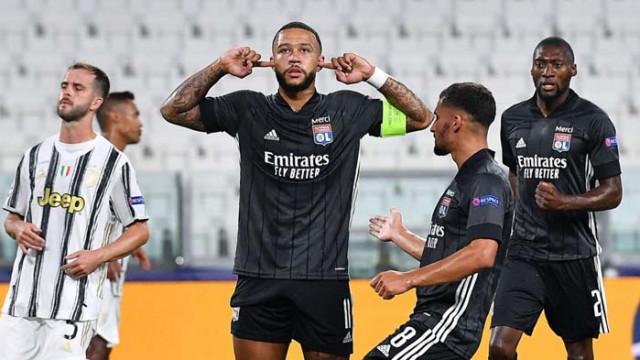 Лион шокира Юве и среща Сити на 1/4-финалите в Шампионска лига