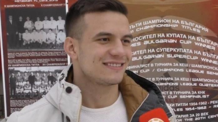 Ангел Лясков от ЦСКА отива в словенски гранд