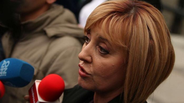 Гониха Мая Манолова от протеста