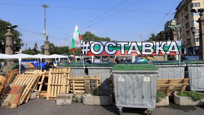Борисов наредил на полицията да не закача протестиращи?