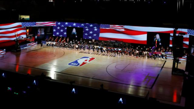 NBA, виртуалните фенове и козата, която беше показана по време на баскетболен мач