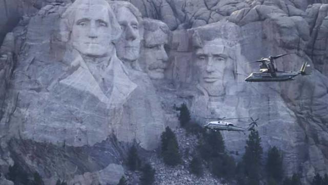 Тръмп не се натискал да стане част от паметника на планината Ръшмор, но идеята била добра