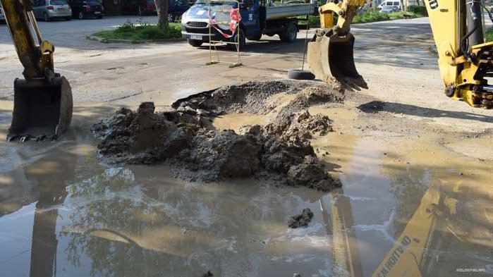 Аварии спряха водата на две места във Варна