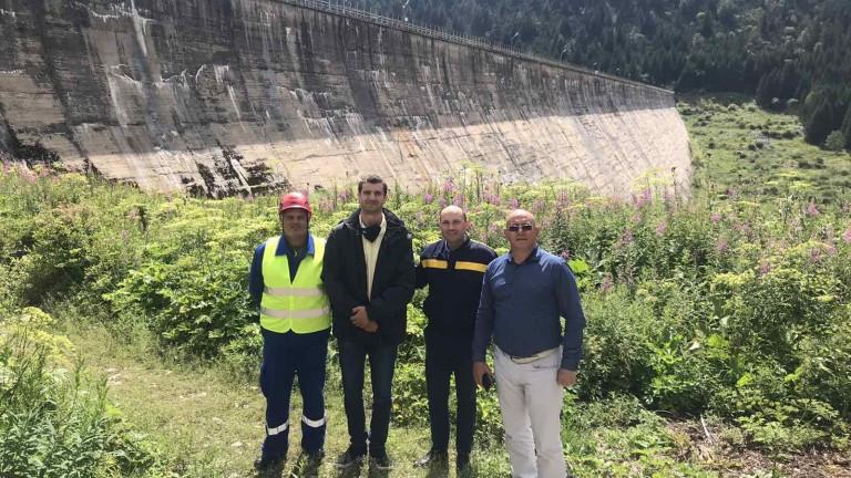 """Директорът на """"Софийска вода"""" увери Ревизоро, че язовир """"Бели Искър"""" е в изправност"""