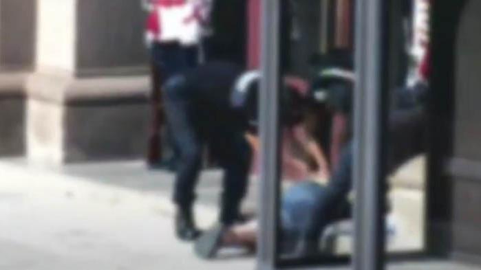 МВР: Жена се опита да нахлуе в сградата на Президентството (ВИДЕО)