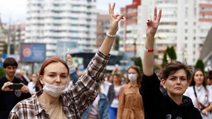 Беларуската полиция арестувала 700 при вчерашните протести