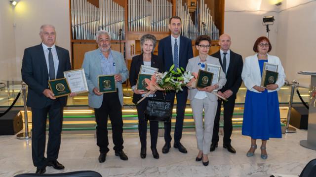 Церемония по награждаване на изявени дейци на просветата и културата в Ямбол