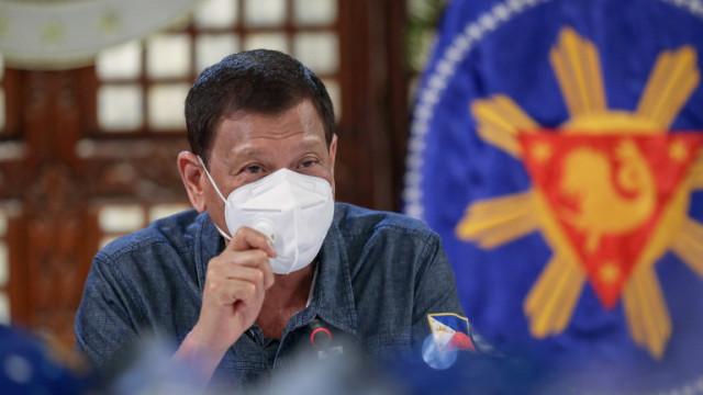 Дутерте: Отваряме училищата във Филипините след създаване на ваксина против Covid-19