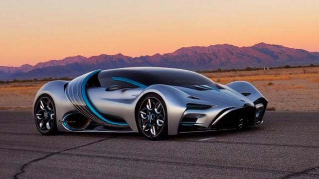 Hyperion XP-1 - супер автомобилът на водород, който изпуска само водни пари