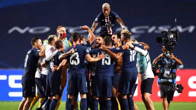 ПСЖ е финалист в Шампионска лига за първи път в историята си