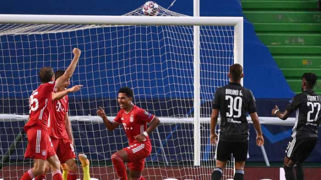 Гнабри прати Байерн на финала на Шампионската лига